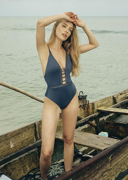 Carlotta Deep blue  One Piece
