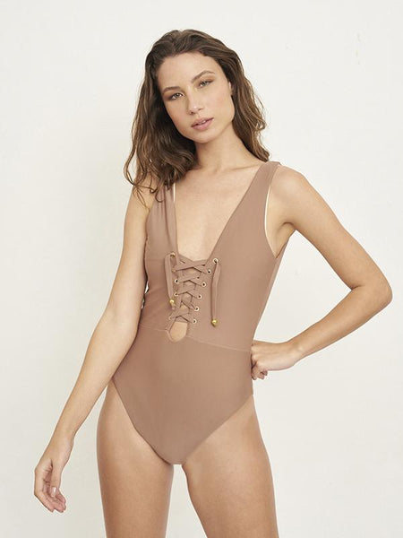Chill Out Solid Caramel One Piece