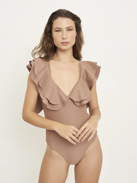 Ganesh Solid Caramel One Piece