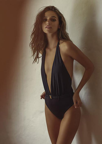 Kaima Black One Piece