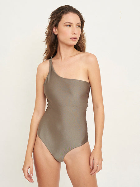 Olivia Solid Verdant One Piece