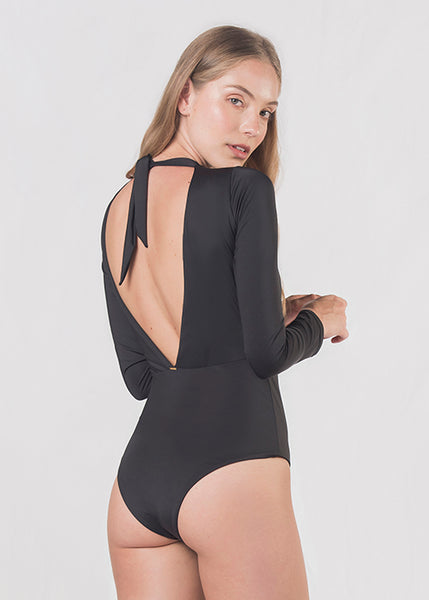 Poliana Black One Piece