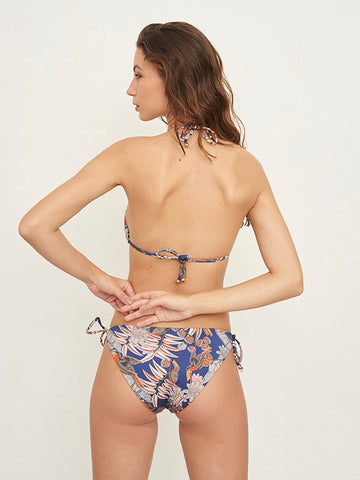 Susy Navy Print Bottom