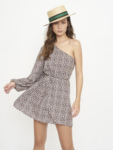 Village Jungle Print Short Dress