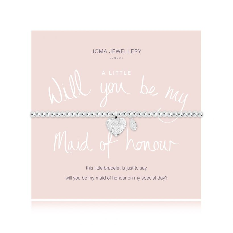 Will You Be My Maid of Honour Bracelet