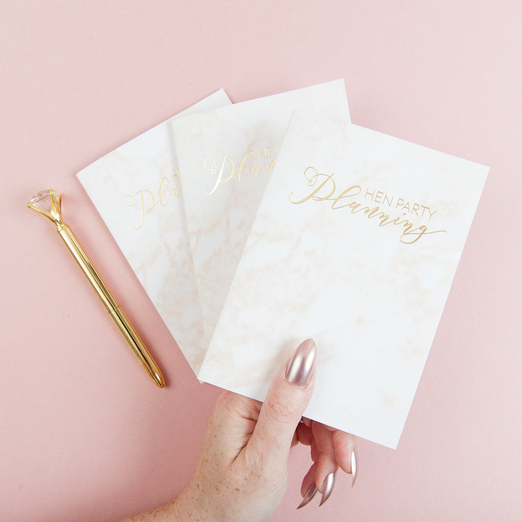Hen Party Planning Notebook | Bridesmaid Gift - Team Hen