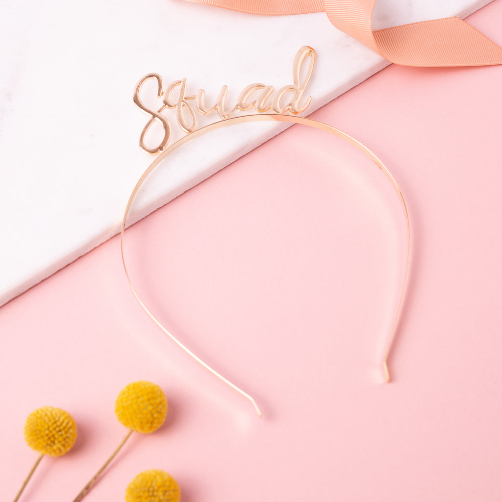 Squad Headband | Hen Party Headband