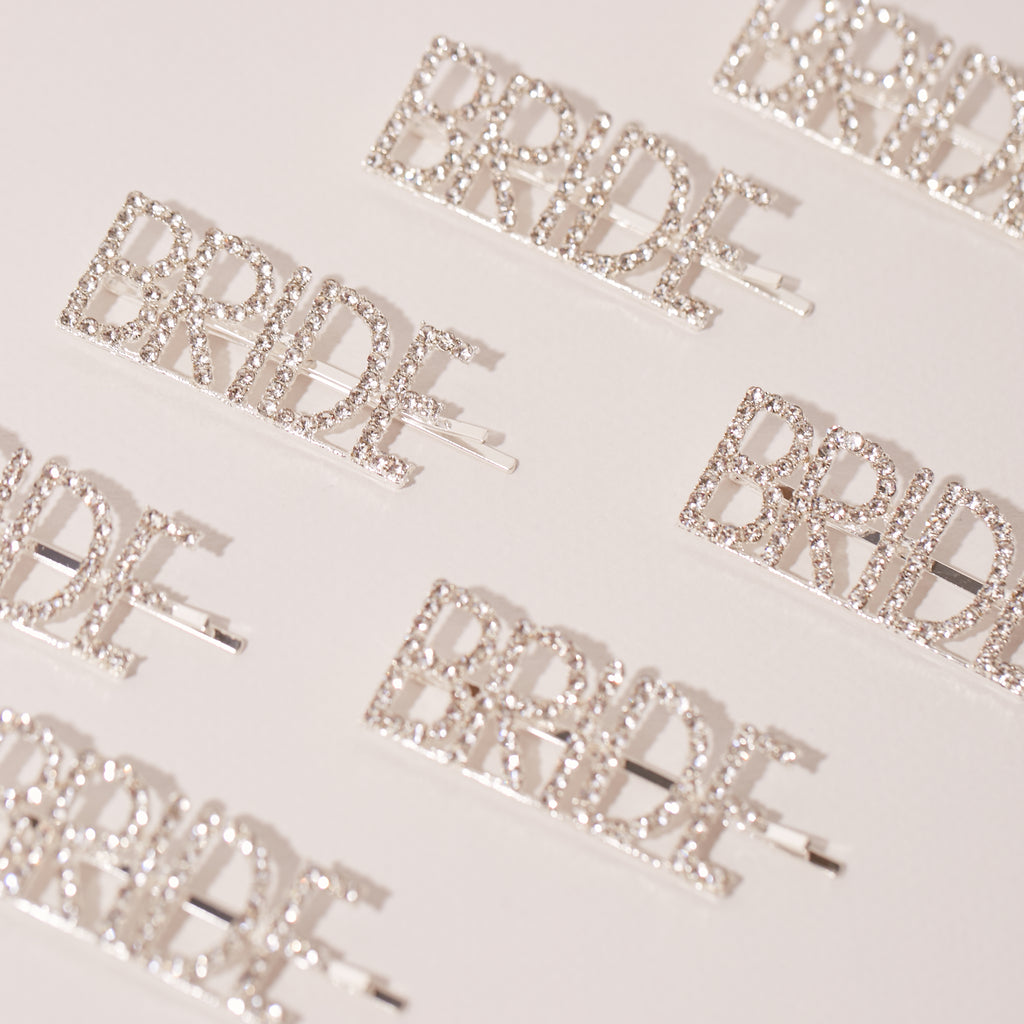 Bride Diamanté Hair Slide | Bride to Be Gifts - Team Hen