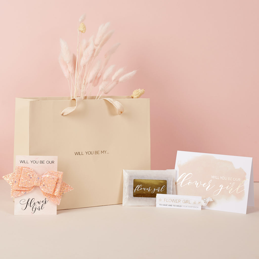 Will You Be My Flower Girl Gift Bag