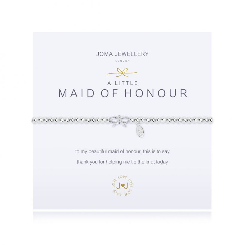 Thank You Maid of Honour Bracelet | Maid of Honour Jewellery - Team Hen