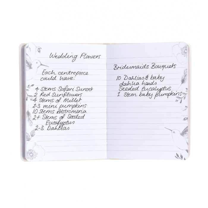 Wedding Notes Mini Notebook | Wedding Planners - Team Hen
