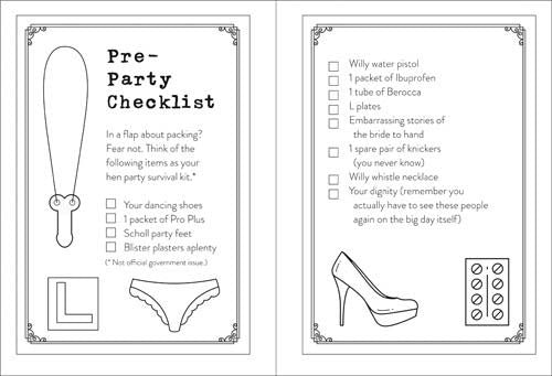 Team Bride - How to plan the perfect Hen Party for your BFF - Book