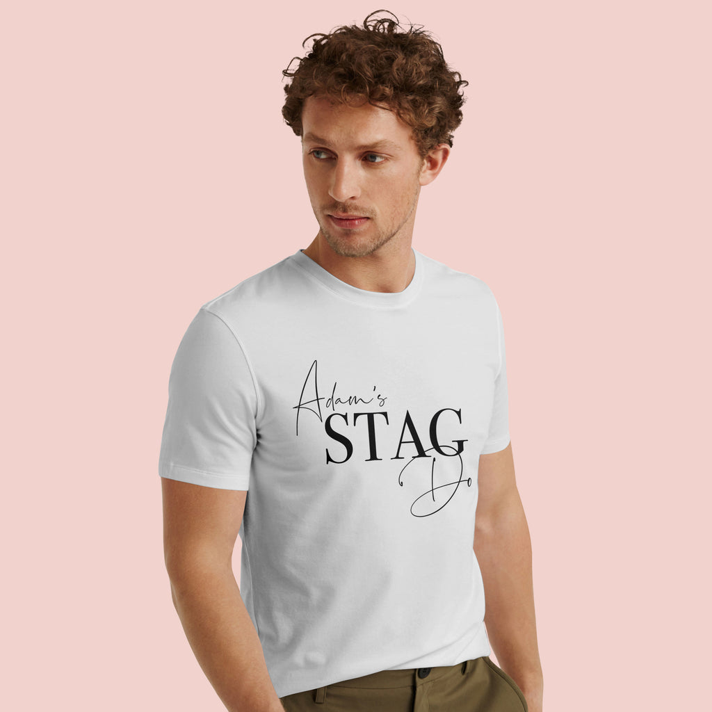 Personalised Stag Do T-Shirt | Double Sided