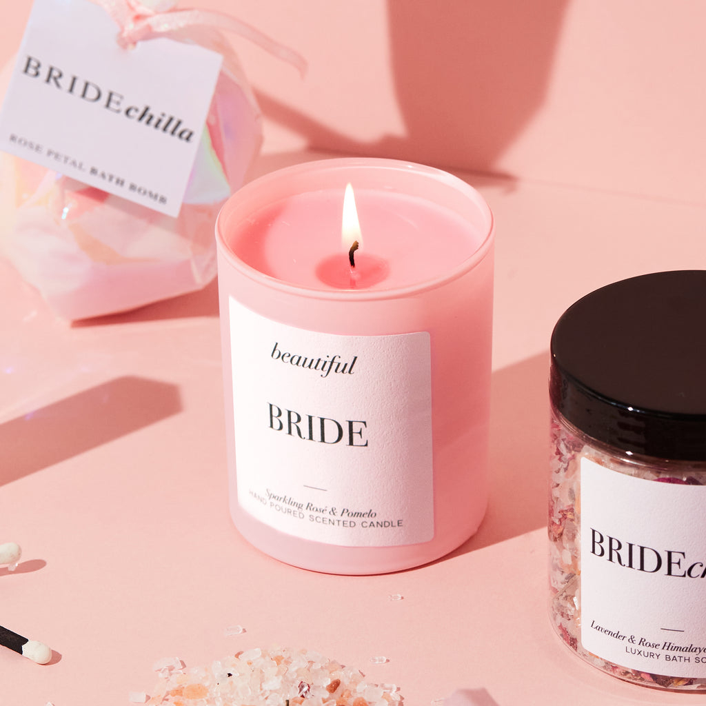 Beautiful Bride Luxury Candle | Bride to Be Gift - Team Hen
