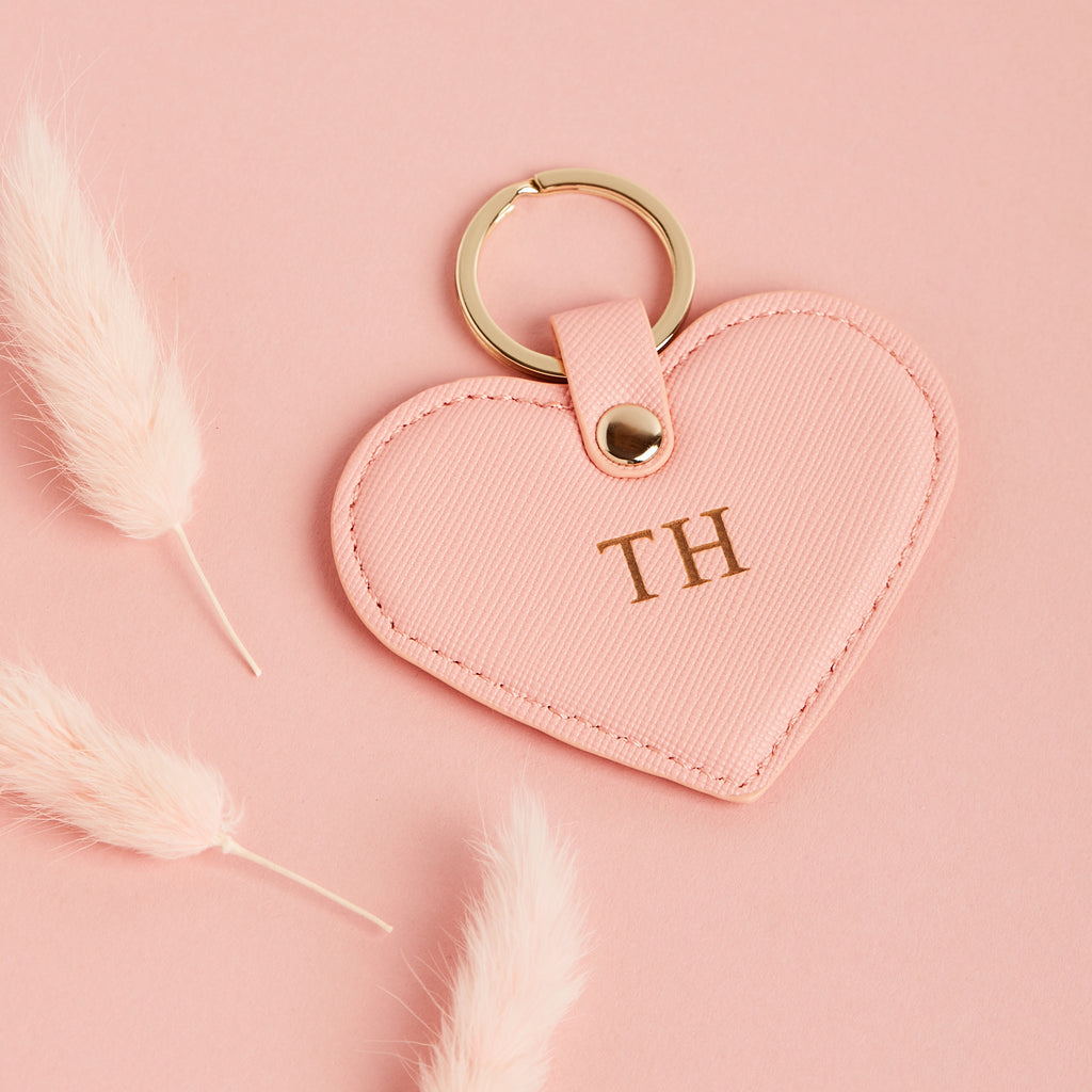 Personalised Heart Keyring | Bridesmaid Gifts - Team Hen