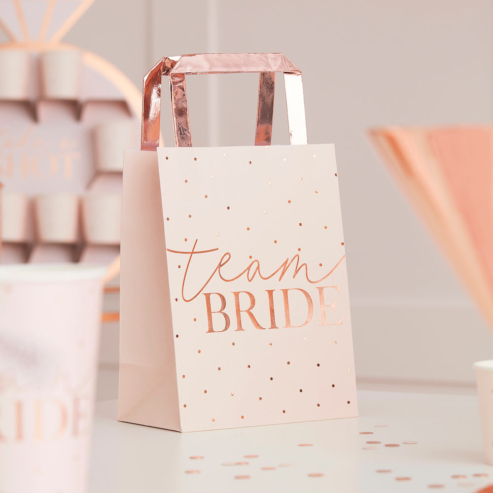 Blush Hen Party Gift Bags