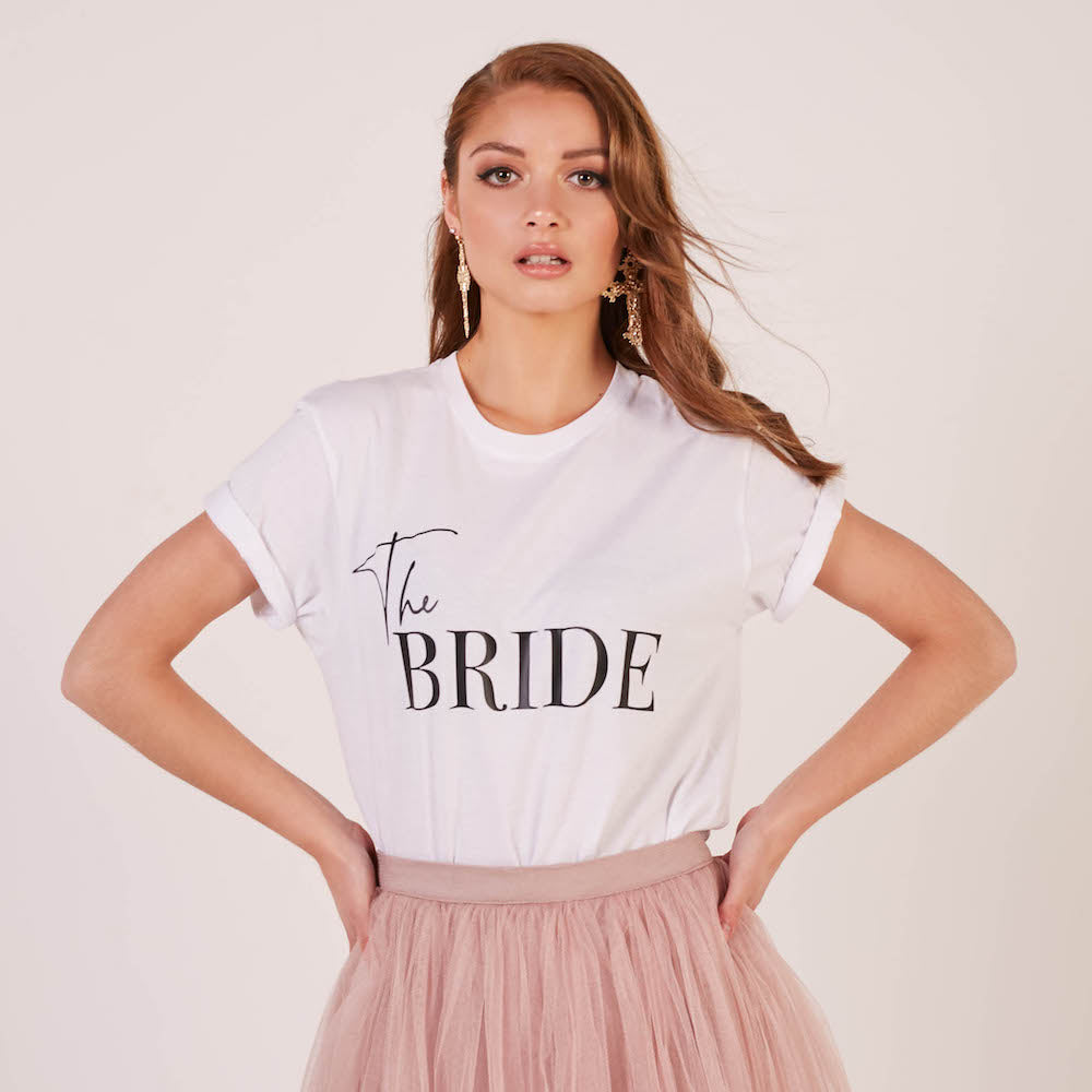 The Bride T-Shirt | Double Sided - Team Hen