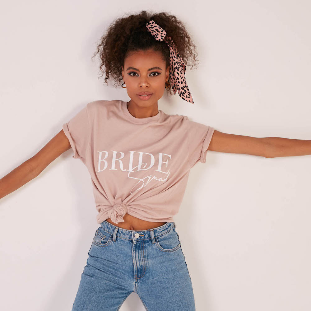 Bride Squad T-Shirt | Single Sided