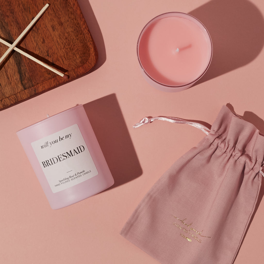 Will You Be My Bridesmaid Luxury Candle