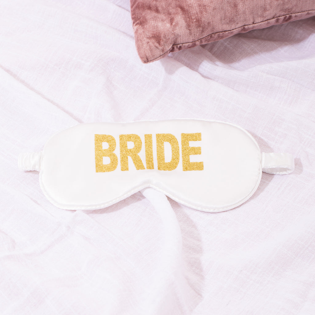 Bride Satin Hen Party Eye Mask