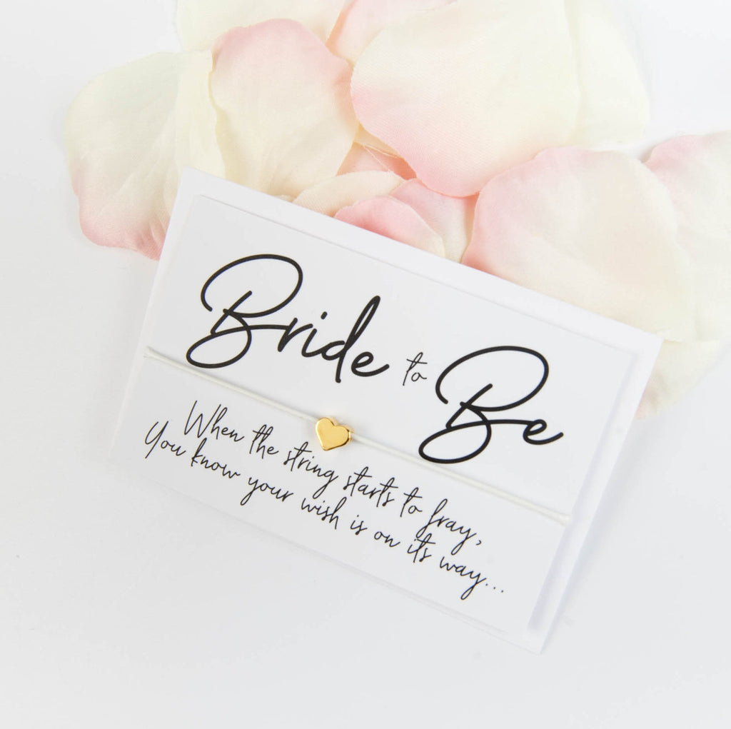 Bride to Be Wish Bracelet