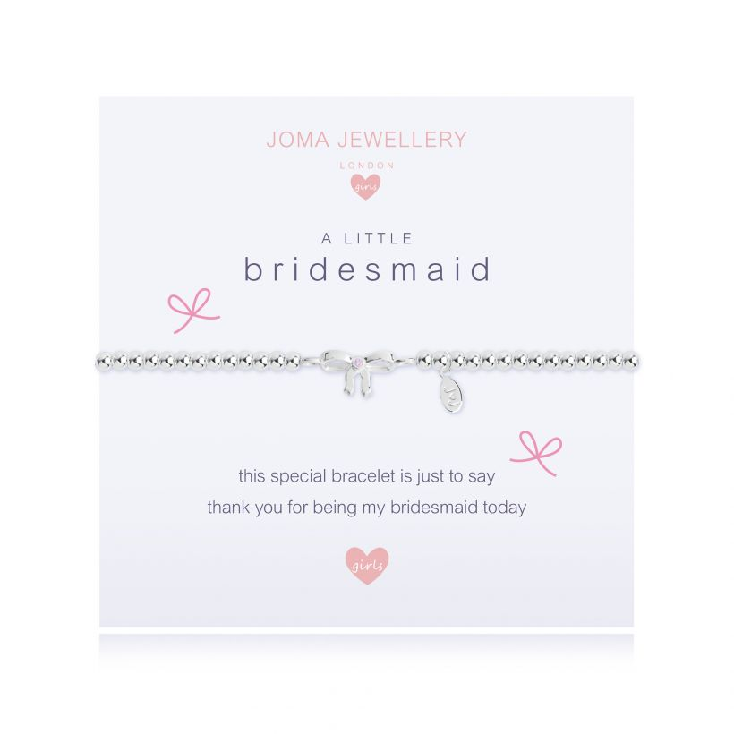 Silver Bridesmaid Bracelet