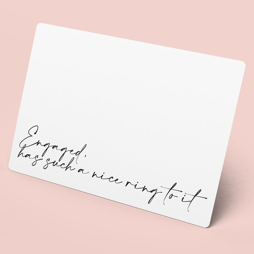 Engagement Notecard | Bride to Be Cards - Team Hen