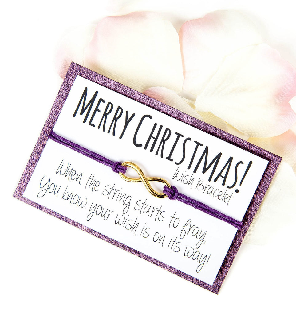 Merry Christmas Wish Bracelet