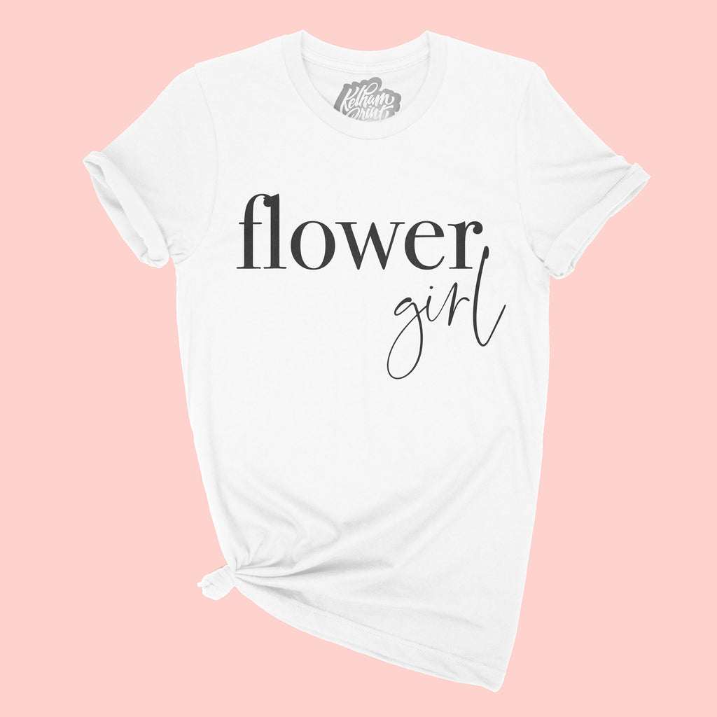Flower Girl T-Shirt | Double Sided
