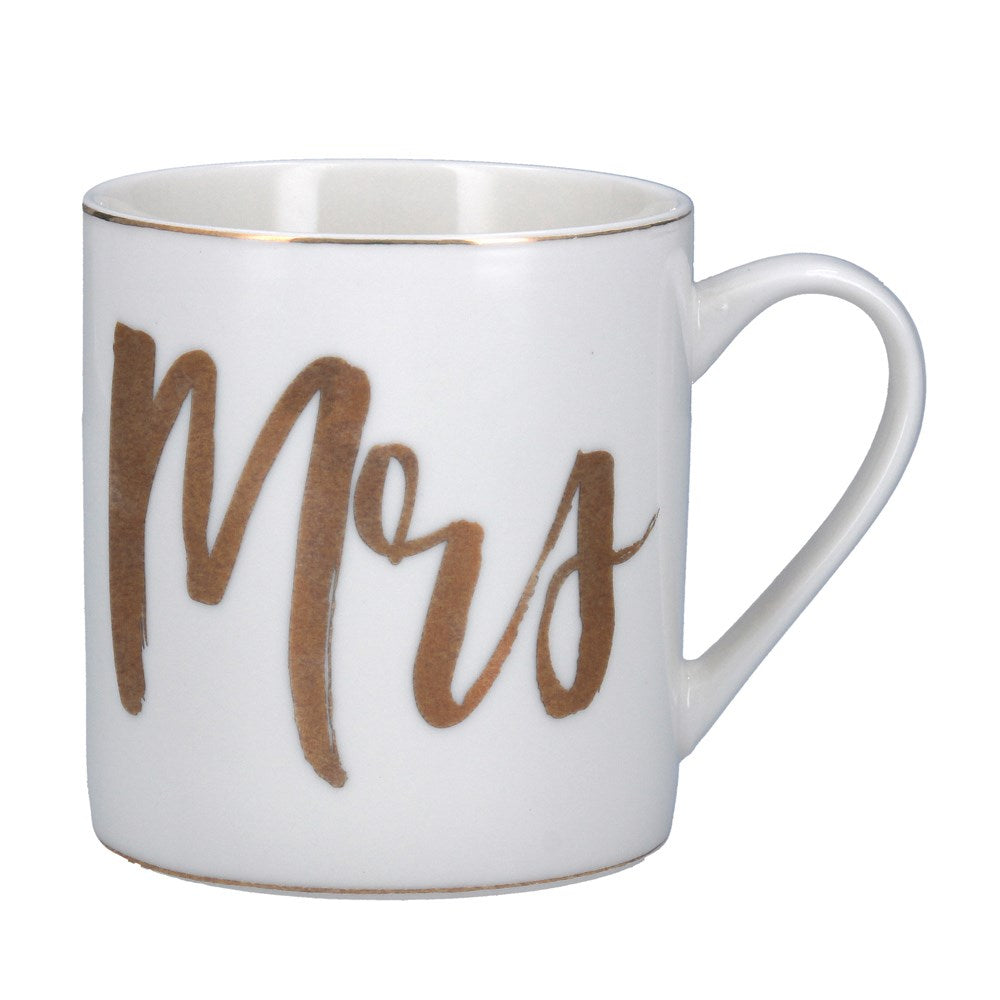 Gold Mrs Mug - Team Hen