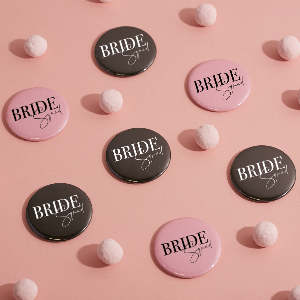Bride Squad Hen Party Pocket Mirrors | Hen Party Accessories - Team Hen