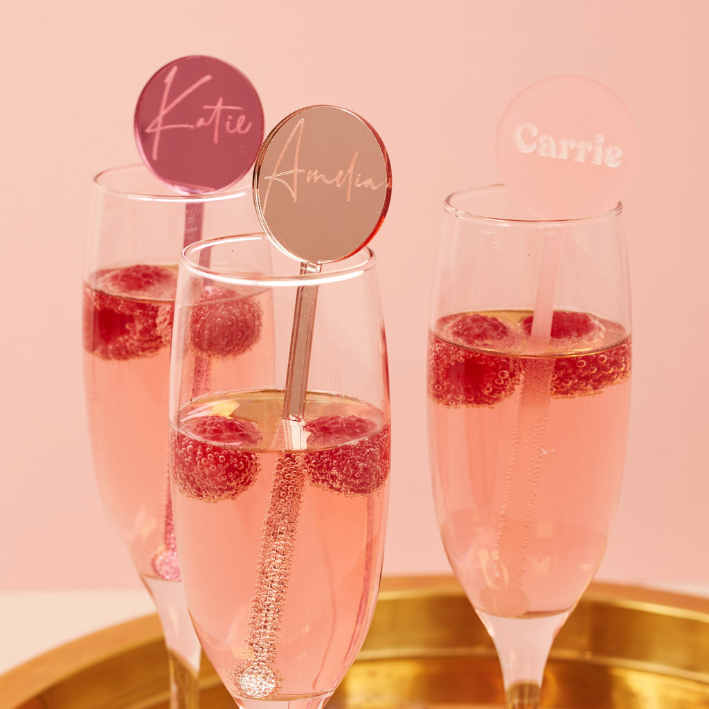Personalised Cocktail Stirrers