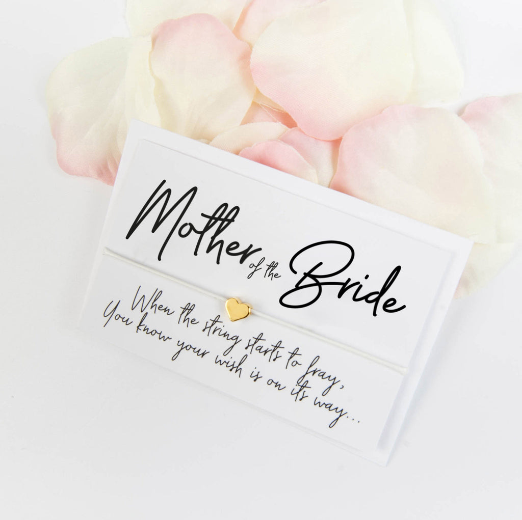 Mother of the Bride Wish Bracelet