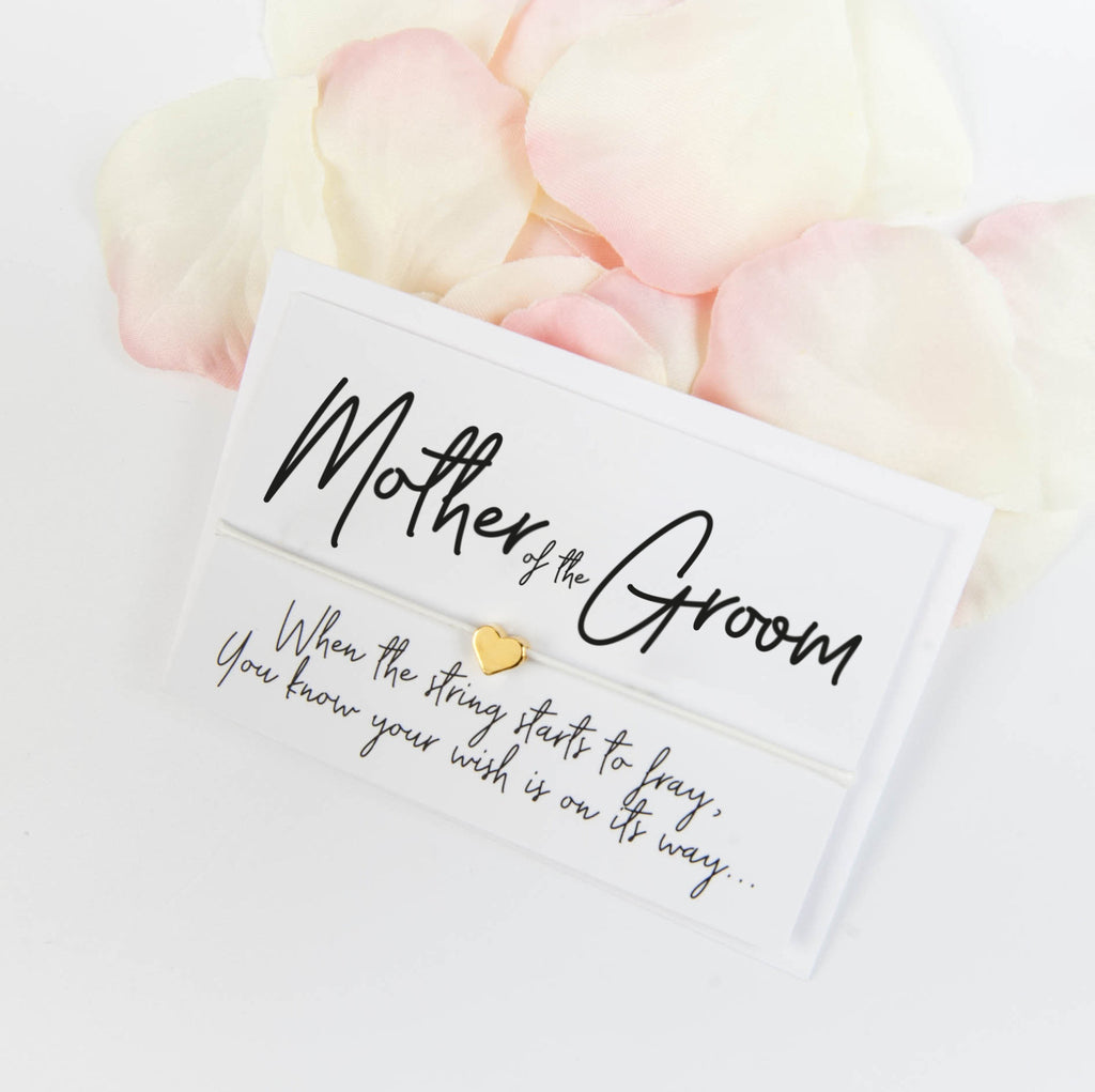 Mother of the Groom Wish Bracelet