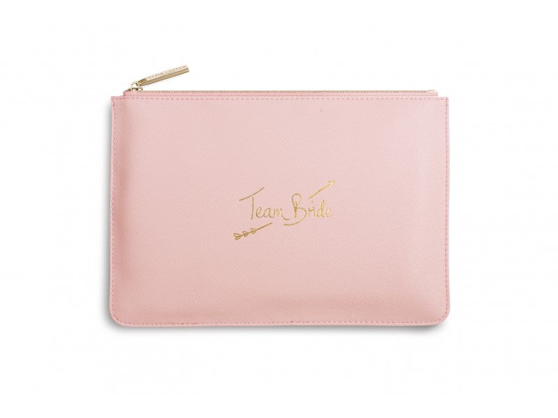 Team Bride Perfect Pouch