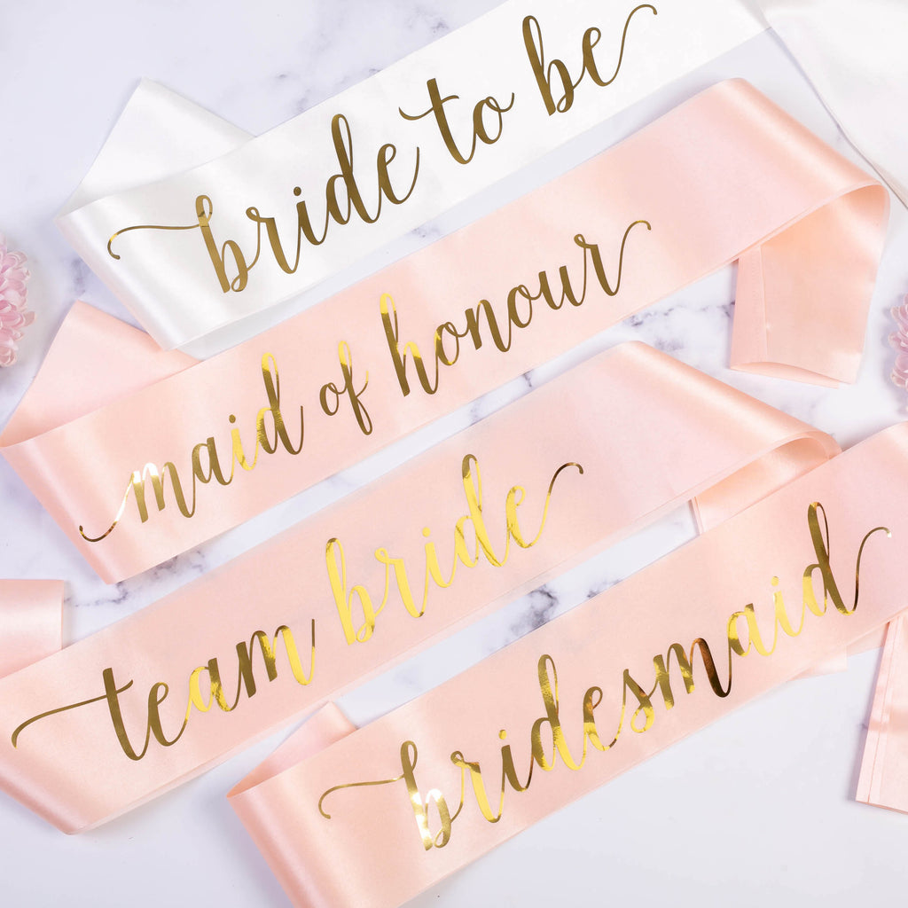Bride to Be Satin Sash | Hen Party Sashes - Team Hen