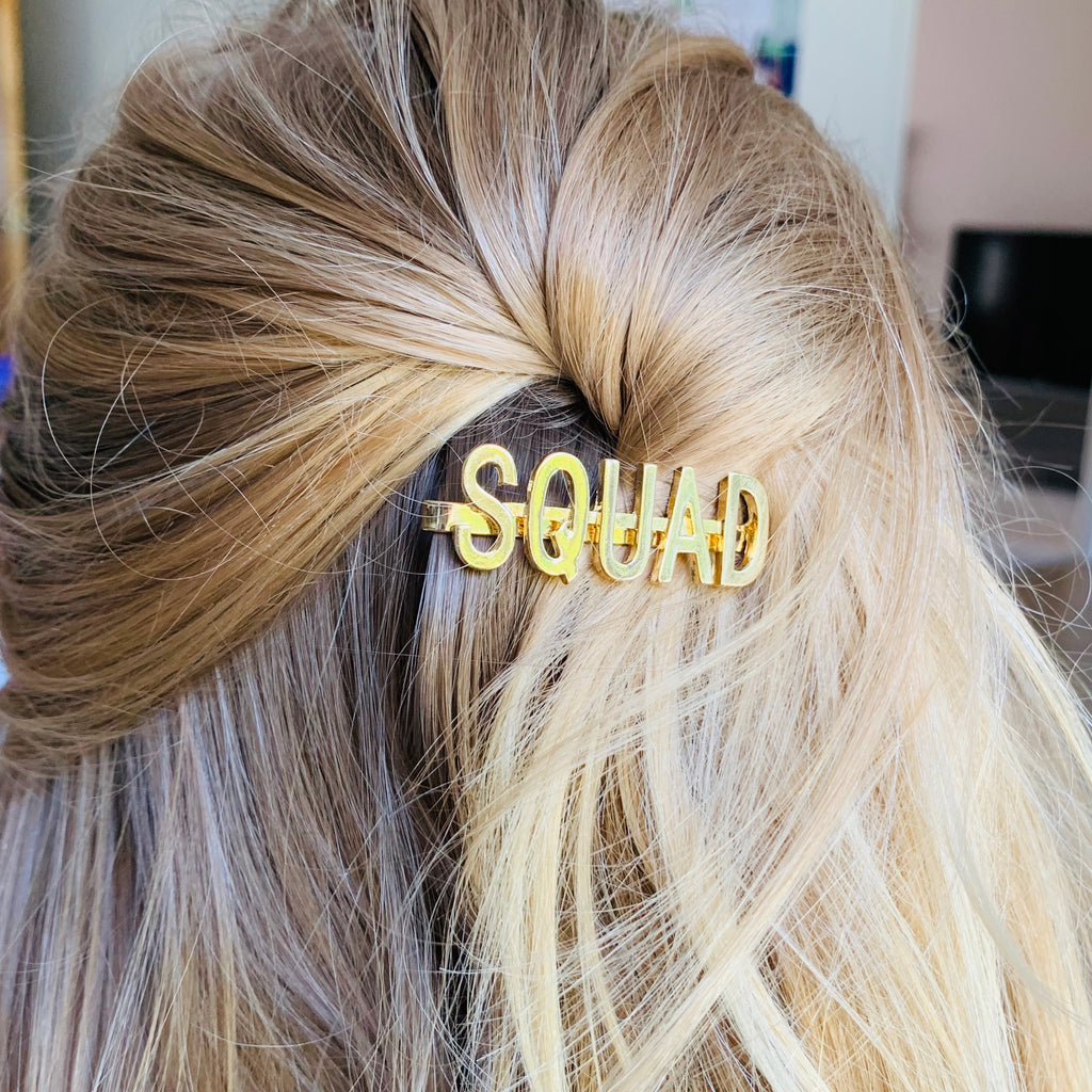 Squad Hen Party Hair Slide | Hen Party Favours - Team Hen