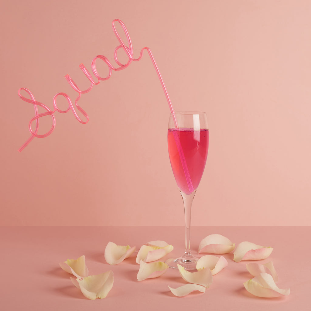Squad Bendy Straw | Hen Party Straws - Team Hen