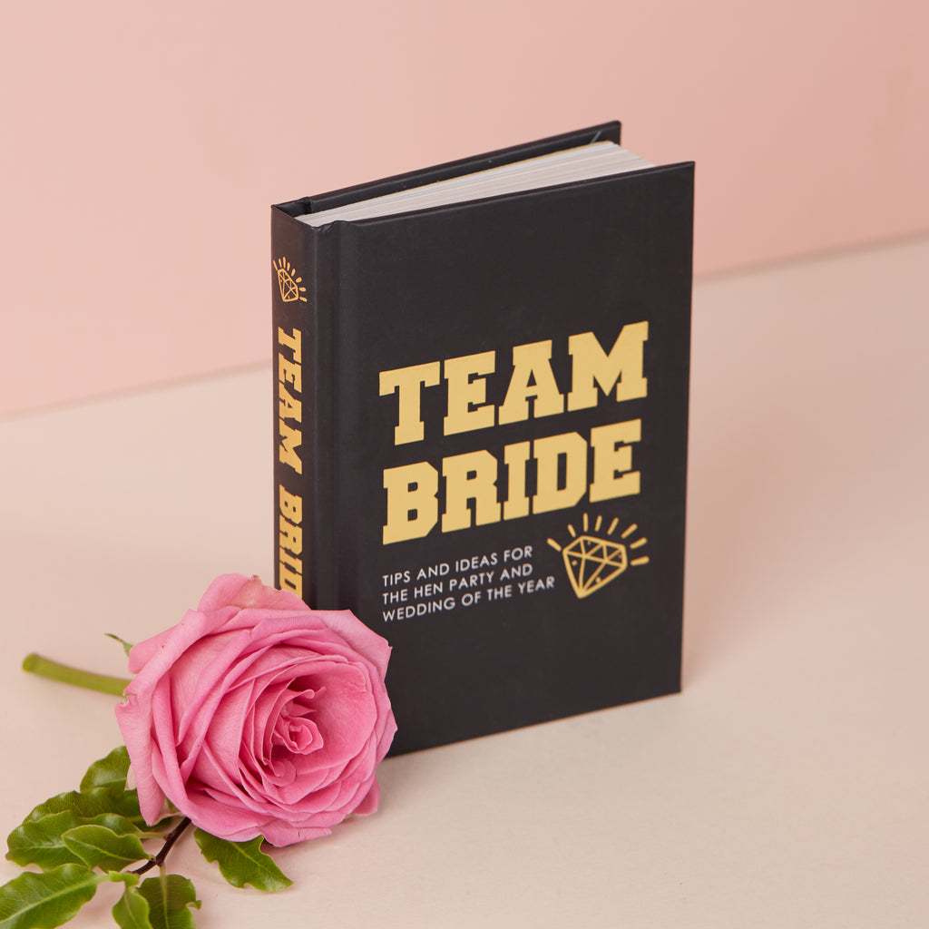 Team Bride Book | Hen Party Planning Book - Team Hen