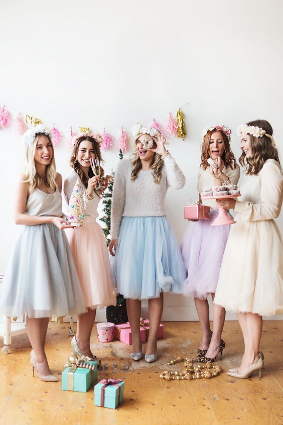 Hen Party Bride Fashion