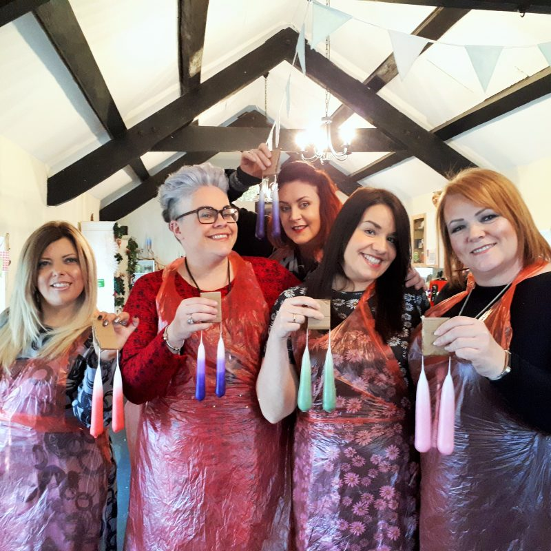 Candle Making Hen Party Workshop