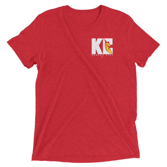 KC Feather - Red - Crew