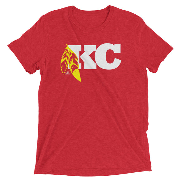 KC Feather Alt - Red - Crew
