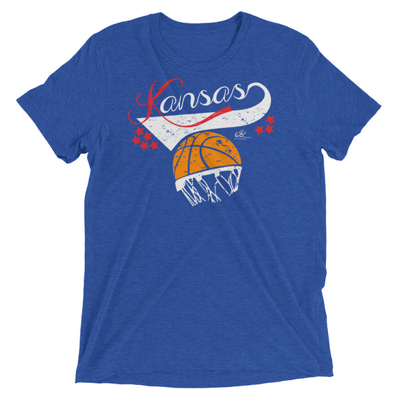 Kansas Basketball Retro - Crew
