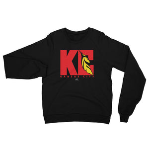 KC Feather Black Sweatshirt