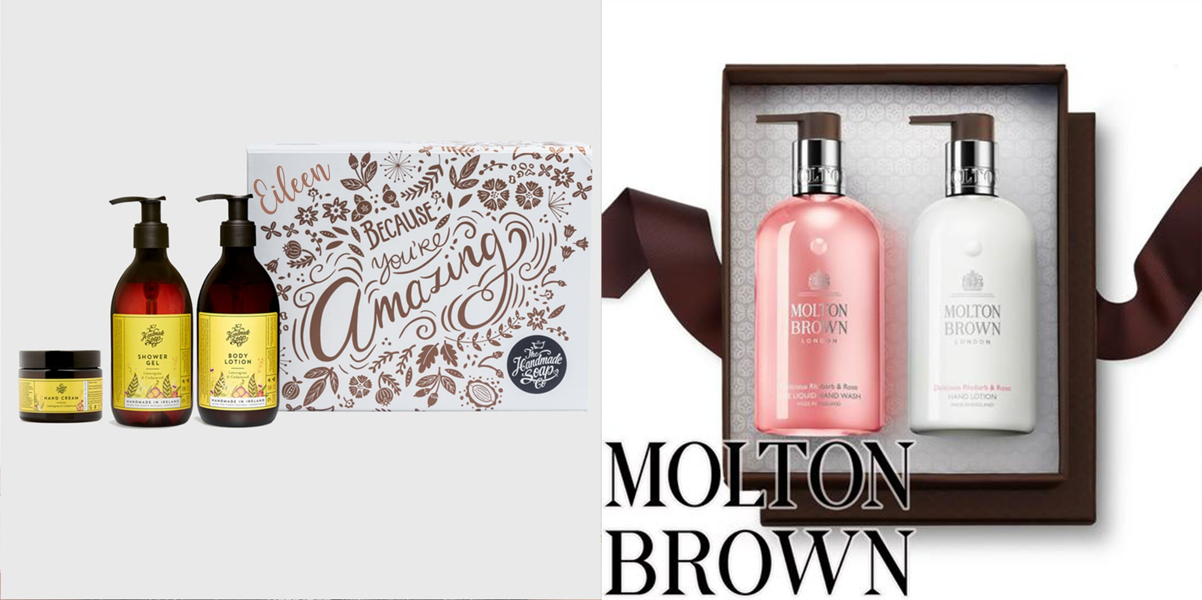 Personalised Mother's Day Gifts | Personalised Mother's Day Molton Brown Gifts | Personalised Mother's Day Luxury Gifts | WowWee.ie
