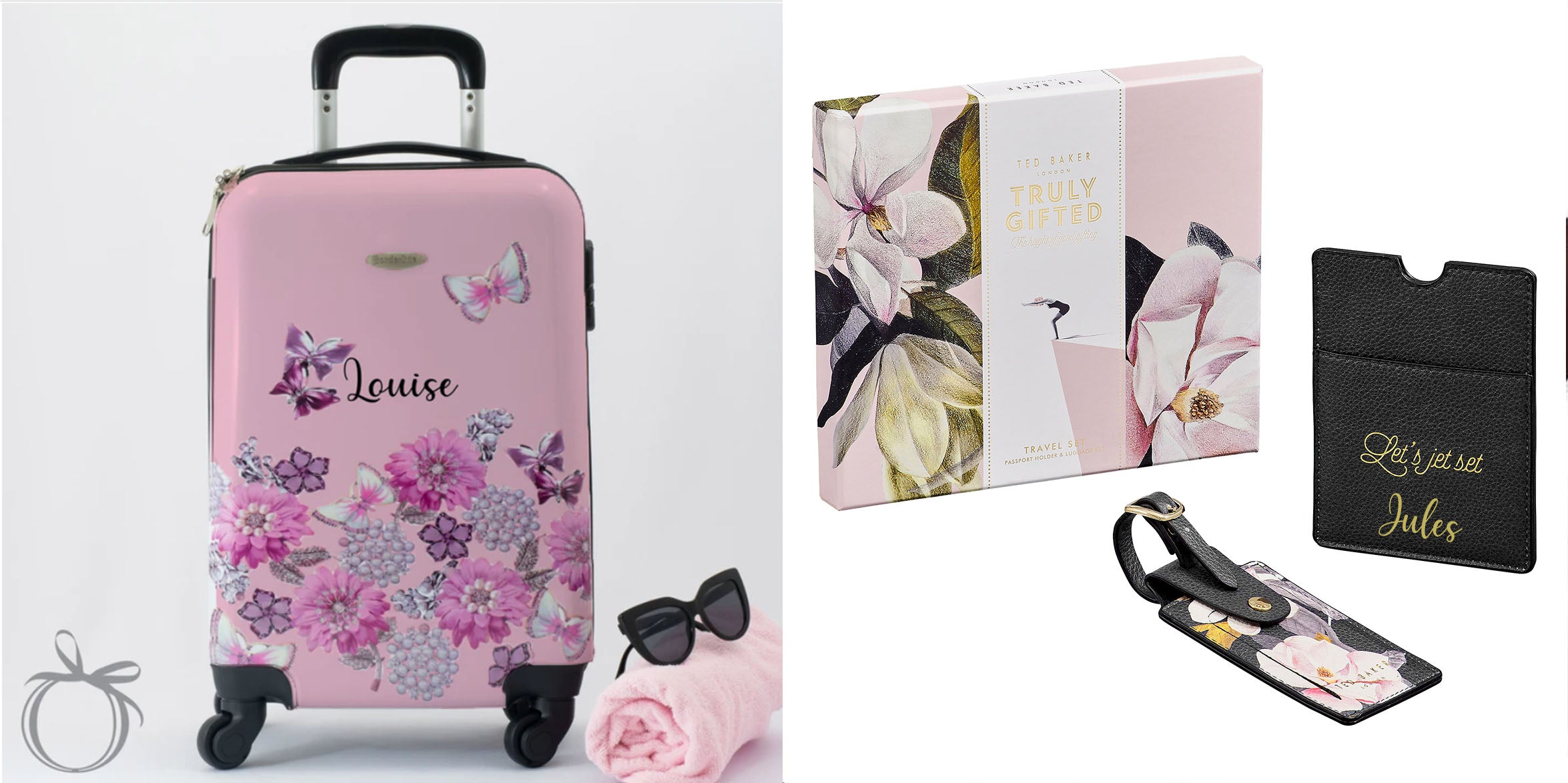 Personalised Mother's Day Gifts | Personalised Mother's Day Suitcase | Personalised Ted Baker Gifts for Mother's Day | WowWee.ie