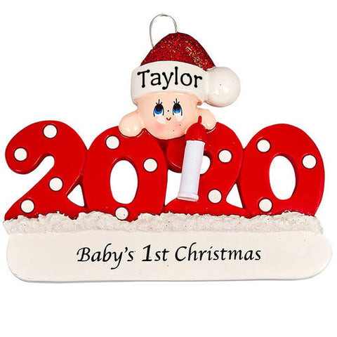 Personalised Christmas Ornaments | Personalised Baby's First Christmas Tree Decoration | WowWee.ie