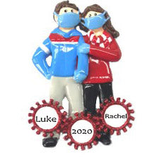 Personalised Christmas Ornament | Covid Christmas Decoration | Pandemic Christmas Ornament | WowWee.ie