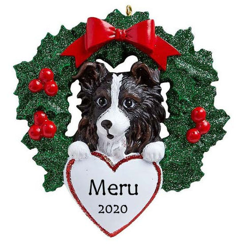 Personalised Dog Christmas Ornament | Personalised Pet Lover Christmas Gift | WowWee.ie